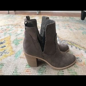 Dolce vita Shay Perforated Booties—never been worn